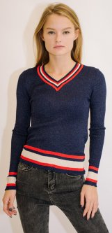 Пуловер Remix 18031 One Size Темно-синий (2950006444217)