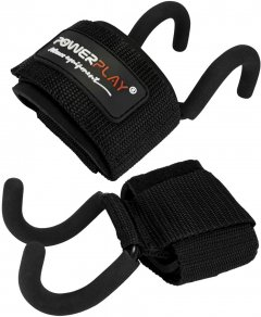 Крюки для тяги PowerPlay 7060 Black (PP_7060_Black)