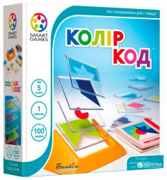 Настольная игра Smart Games Цвет Код (SG 090 UKR) (5414301516415)