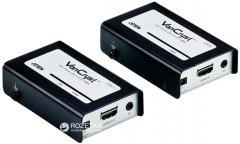 Видео-удлинитель ATEN VE810 по кабелю Cat 5 HDMI/ИК (VE810-A7-G)