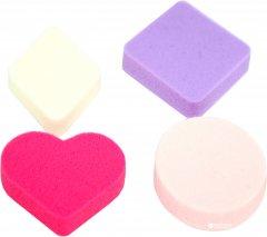 Спонж косметический для макияжа Zauber-manicure 1/4 фигурный S-106 (4004904061064)