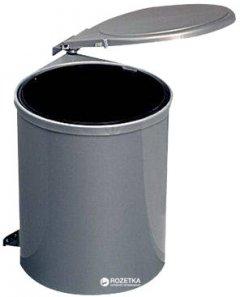 Контейнер для мусора Hafele пластмассовый 13 л Серебристый (502.01.923)