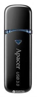 Apacer AH355 64GB USB 3.0 Black (AP64GAH355B-1)