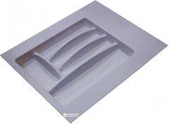 Лоток для столовых приборов Hafele пластиковый 400-450 мм Серый (556.46.504)
