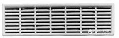 Вентиляционная решетка Hafele 68 x 227 мм Белая (571.55.343)