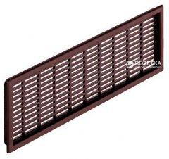 Вентиляционная решетка Hafele 68 x 227 мм Коричневая (571.55.549)