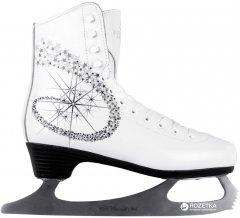 Коньки фигурные СК Princess Lux 100% Leather 31 White (23142381)