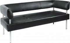 Офисный диван Примтекс Плюс D 01 D-5 Черный