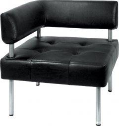 Офисный диван Примтекс Плюс D 04 D-5 Черный