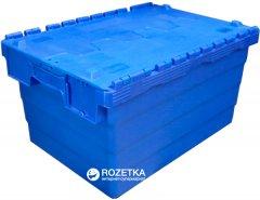 Ящик пластиковый с крышкой Sembol SPKM320 600х400х320 мм (62505050-P00102)