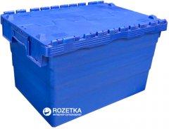Ящик пластиковый с крышкой Sembol SPKM365 600х400х365 мм (62505050-P00103)