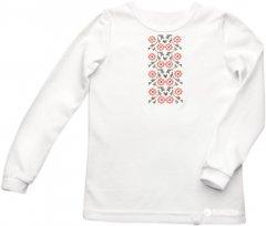 Вышиванка Модный карапуз 03-00756 128 см Белая (4821109075609)