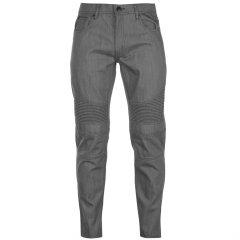 Джинси No Fear Textured Biker Jeans Mens 34WS Grey (4898476)