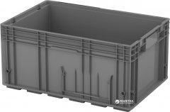 Ящик пластиковый универсальный iPlast 6280 600х400х280 мм Серый (12.505F.91)