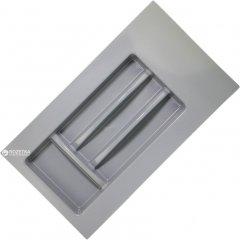Лоток для столовых приборов Union Plast 300-350 мм 280х500х45 мм Серый (VR13992)