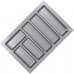 Лоток для столовых приборов Smart Variant 400 мм 330х480х45 мм Серый (VR34689)