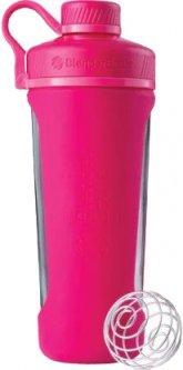 Шейкер BlenderBottle Radian Glass с шариком 820 мл Розовый (Glass_Pink)