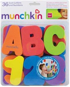 Игрушечный набор для ванны Munchkin Буквы и цифры (01110802)