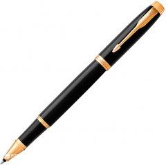 Ручка-роллер Parker IM 17 Black GT RB Синяя Черный корпус (22 022)