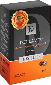 Кофе молотый Dellavie Exclusif 250 г (4820000372169)