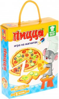 Игра магнитная Vladi Toys Пицца Рус (VT3004-08) (4820195053485)