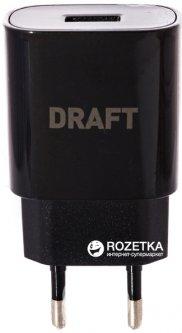 Зарядное устройство DRAFT 4210D-USB 5V 2A Black (145806/152823)