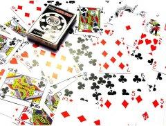 Карты игральные покерные пластиковые Duke Poker Playing Cards 54 листа 87x62 мм (DN26808)