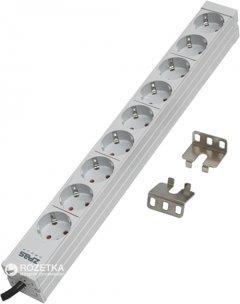 "Блок розеток ZPAS 19"" 1U на 9 подключений Schuko для серверного шкафа/стойки (WZ-LZ30-09-SU-000/C)"