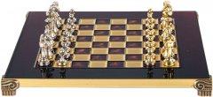Шахматы Manopoulos 28х28 см Красные (S32RED)
