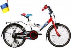 """Детский велосипед Ardis GT-Bike 16"""" 9"""" 2021 Бело-сине-красный (04351)"""