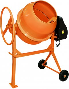 Бетономешалка Кентавр БМ-125Е Оранжевая (55573)