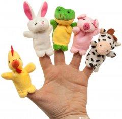 Набор игрушек на пальцы Baby Team Весёлые пушистики (8710)