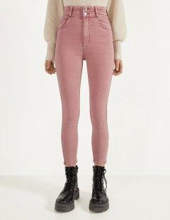 Джинси Bershka Ж1055255 (0051/019/607) колір рожевий L