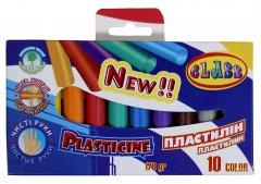 Пластилин Class Чистые руки ECO 10 цветов 170 г (8591662762600)