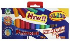 Пластилин Class Чистые руки ECO 12 цветов 200 г (8591662762709)