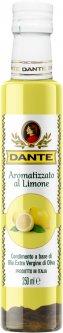 Оливковое масло Olio Dante Extra Virgin первого холодного отжима со вкусом лимона 250 мл (8033576194028)