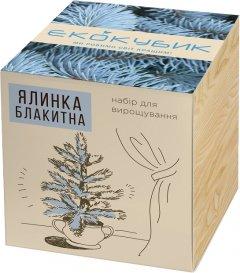 Набор для выращивания Экокубик Голубая Ель (2000000041049)