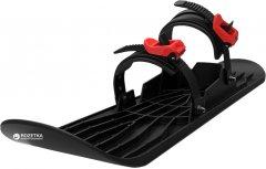 Монолыжа Plastkon OneFoot Miniski Черная с красным (8595096962179)