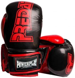 Боксерские перчатки PowerPlay 3017 16 унций Black (PP_3017_16oz_Black)