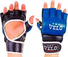 Перчатки для смешанных единоборств MMA Velo L Blue (4033ULIZ-L-B)