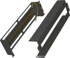 """Панель ZPAS 19"""" 3U c DIN-рейкой для серверного шкафа Черная (WZ-PS3U-00-00-161)"""