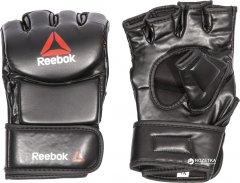 Перчатки для смешанных единоборств MMA Reebok Glove L Черные (RSCB-10430RDBK)