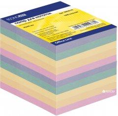 Бумага для заметок Economix 90х90 мм 1000 листов Цветная (E20938-99)