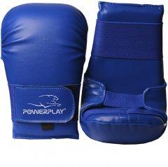 Перчатки для Карате PowerPlay 3027 L Blue (PP_3027_L_Blue)
