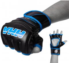 Перчатки MMA PowerPlay 3055 M Black/Blue (PP_3055_M_Blue)