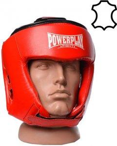 Боксерский шлем PowerPlay 3049 M Красный (PP_3049_M_Red)