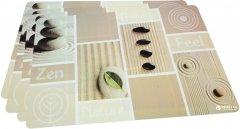 Набор сервировочных ковриков Fissman 43.5х28.5 см 4 шт (DF-0652.PM)