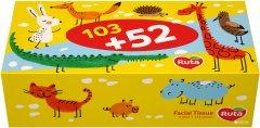 Салфетки косметические Ruta Kids 2 слоя 155 листов (4820023748422_1)