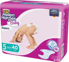 Подгузники Helen Harper Baby New Junior 11-25 кг, 40 шт (5411416030713)