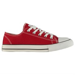 Кеди Lee Cooper Canvas Lo Shoes Ladies 41 (255 мм) Red (4965811)